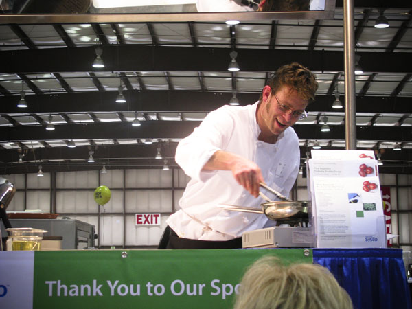 Kevin Kerciu at the 2009 Sysco Food Show