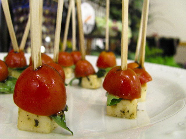 Hors d\'oeuvre Menus - A Tasteful Affair: Extraordinary Catering ...